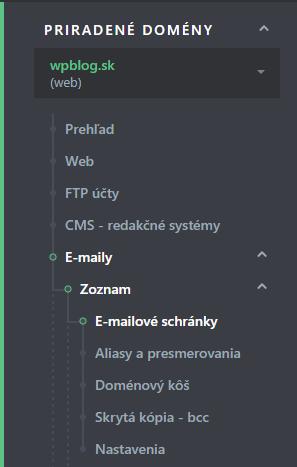 Ako vytvoriť email 1